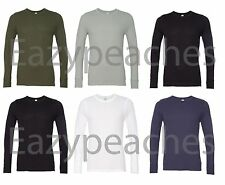Alternative Mens NEW Size S-2XL Long Sleeve Thermal T-Shirt Apparel 50/50 Tee