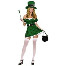 Leprechaun Costume Womens Sexy Irish Girl Adult St Patrick's Day Fancy Dress