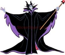 DISNEY WITCH MALEFICENT Decal Removable WALL STICKER Decor Art Sleeping Beauty