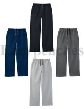 Fruit of The Loom - Mens OPEN BOTTOM POCKET Sweatpants, Sweats Size S-XL, 2XL