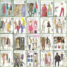 McCalls Dress Wardrobe & Separates Sewing Pattern Misses Plus Size Full Figure