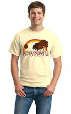 ANOTHER BEAUTIFUL DAY IN JOHNSON CREEK, WI Retro Adult Unisex T-shirt. Wisconsi