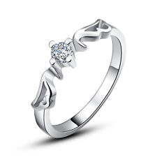 925 Silver Sterling Silver Wings Women's Ring High Quality