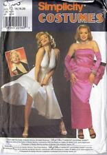 Marilyn Monroe Norma Jean Halter Dress Costume Simplicity Sewing Pattern 8393