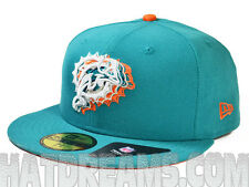 Miami Dolphins 2013 ILLUSION FITTED 59Fifty NFL Authentic Hat by New Era