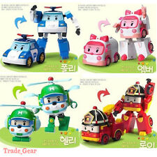 RoboCar Poli Transformer Figure Robots Cartoon Animation (Korea) Kids Toy NEW