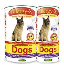 ALLERGY-X HERBAL OVAL BISCUITS FOR DOGS verm-x dog natural allergy control