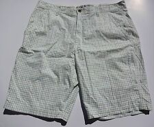 OLD NAVY MENS DRESS SHORTS WHITE/ GRAY/ BLUE PLAIDS SIZES 40 AND 46 NWT