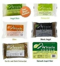 1 to 9 (7 to 8 oz) Packages Miracle Noodle Angel Hair, Fettuccini, and/or Rice