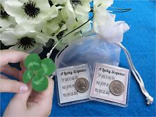 Special Day Lucky Sixpence Gift Bag Present For Good Luck & Fortune New