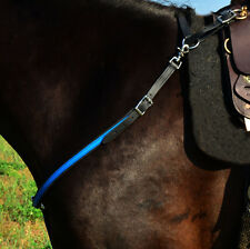 *Large Pony Size* ANY 2 COLORS English BREAST COLLAR Beta Biothane Trail Show