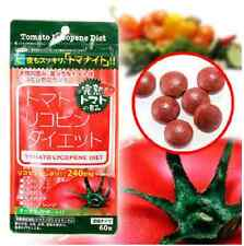 Tomato Lycopene Diet Pill Japan Slim Rapid Weight Loss Formula 1 Pack 60 Caps