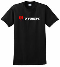 TREK BICYCLE T SHIRT MOUNTAIN BIKE ROAD CYCLING RACE MTB