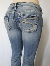 New Silver Jeans TUESDAY Low-Rise Boot Cut Good Price!
