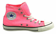 Converse Ct Hi Neon Unisex Big Kids Fashion Sneakers Neon Pink 136581f