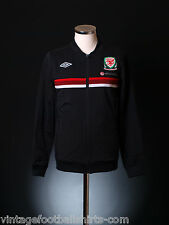 2012-13 Wales Rare Umbro Knit Training Track Retro Top Jacket *w/tags* M-L-XL