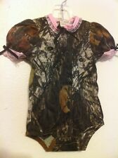 MOSSY OAK CAMO CAMOUFLAGE BABY INFANT snapsuit super cute!!!!  6-12months