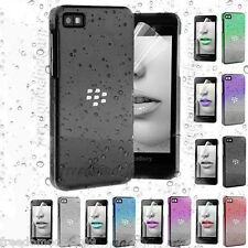 3D Raindrop Transparent Water Drop Snap On Case Cover for BlackBerry Z10 BB 10
