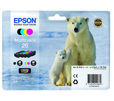 Epson T2616 Genuine Printer Ink Cartridges Multipack