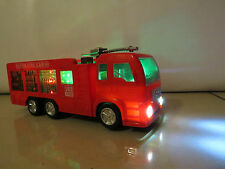 *NEW* FIRE ENGINE TRUCK ELECTRIC TOY WITH LIGHTS SOUNDS -BOY GIRL -UK- MERCEDES