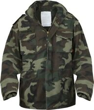 Woodland Camouflage Vintage Military M-65 Field Army M65 Jacket