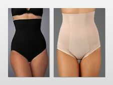 NEW Miraclesuit Hi Waist Brief With Wonder Edge 2705 Black / Nude    Choose Size