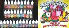 1x Fruity Juicy TASTY PUFF Tobacco Shisha DROPS Choose Flavour FREE UK POSTAGE