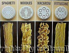 Moulinex Regal V717 La Pasta Machine Dough Pasta Die Disc You Pick