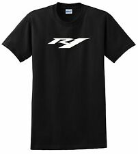 YAMAHA R1 T SHIRT BLACK WHITE YZF MOTORCYCLE ROAD STREET SPORT RACE BIKE 7 COLOR