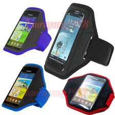SPORT WORKOUT RUNNING JOGGING GYM ARMBAND ARM BAND CASE COVER for SAMSUNG PHONES