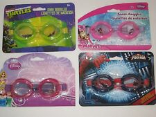 Swimming Goggles KIDS - Pool & Water Eye Protection, Ocean, Disney, Spider-Man