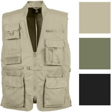 Multi-Pocket Cargo Tactical Plainclothes Concealed Carry Travel Vest
