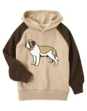 GYMBOREE ALPINE PATROL BROWN DOG HOODED FLEECE JACKET 3 4 5 6 7 8 10 12 NWT