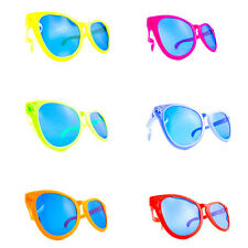 Jumbo Novelty Sun Glasses Parties Raves Prom Graduation Weddings Joke Sunglasses