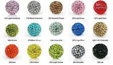 8MM Swarovski Crystal Beads Pave Disco Ball For Bracelets 5 10 20pcs oa1068