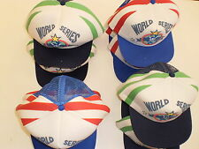 JOB LOT OF BOYS BASEBALL CAPS(WORLD SERIES)