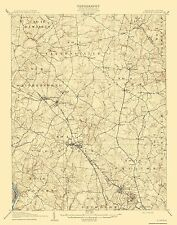 Historical Topographic Maps - ROCKVILLE QUAD MARYLAND (MD/VA) USGS 1908