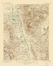 Historical Topographic Maps - BISHOP CALIFORNIA (CA) USGS 1913