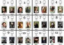 GAME OF THRONES - KEYRING - KEYCHAIN - MAIN CHARACTERS - 12 DESIGNS IDEAL GIFT