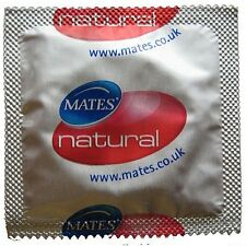 Mates Natural Condoms - Available in 6, 12, 24 packs  **Cheapest***  UK Supplier