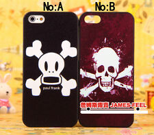 For iPhone 5 5G--Fashion funny Virus skull Back Shell Covers Cases Skins case
