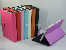 "Colorful Magic PU Leather Case Cover+Stylus For 9"" ZTO 9-Inch Android 4.1 Tablet"