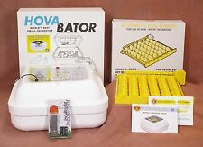 HovaBator 1588 Preset Electronic Egg Incubator | Auto Turner | Candler - Poultry