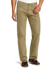 NEW MEN'S DOCKERS D2 STRAIGHT FIT 5 POCKET FLAT FRONT TWILL KHAKI! VARIETY! $55