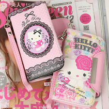 Genuine Hello Kitty Wallet Diary Case for Samsung Galaxy S4 Case made in Korea
