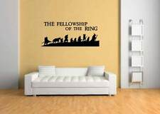 lord of the rings wall art sticker,hobbit,game,film,toy,book,gandalf,decoration