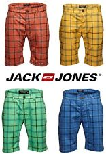 Jack & Jones Hose Akon Chino Short Check Gr. S, M, L, XL, XXL 4 Farben NEU