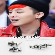 BIGBANG BIG BANG G-DRAGON - Unique Hearts Earring [BB114]