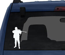 Hunting Rifle Aim #5- Deer Duck Hunt Chasing Tail - Car Tablet Vinyl Decal