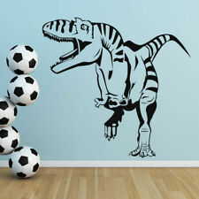 Kids Roaring Open Mouth T-Rex Dinosaur Wall Art Sticker Decal Transfer (AS10006)
